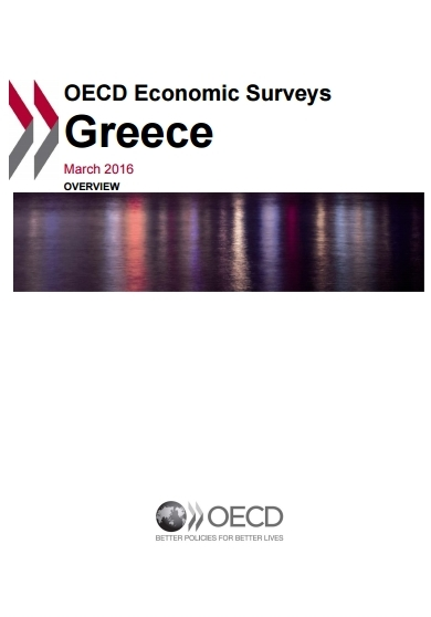 OECD 2016 Report: Reforms in Greece Start Bearing Fruit