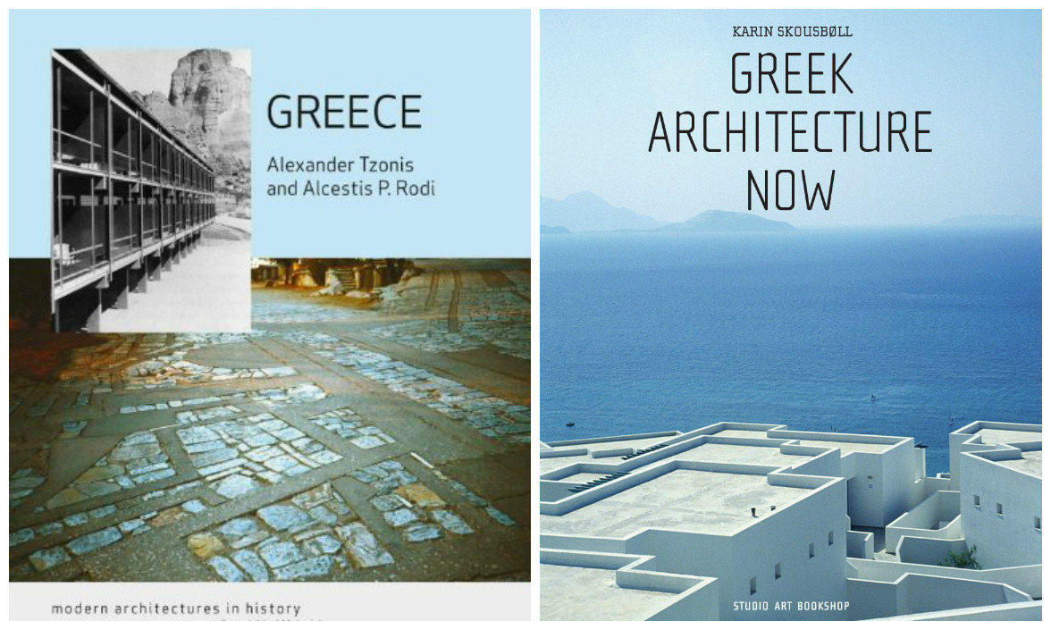 Modern Greek Architecture bookshelf: exploring greek architecture