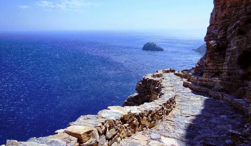 amorgos Monastery hike