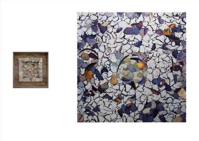 SEA WORKS SEA CREATURES Diptych