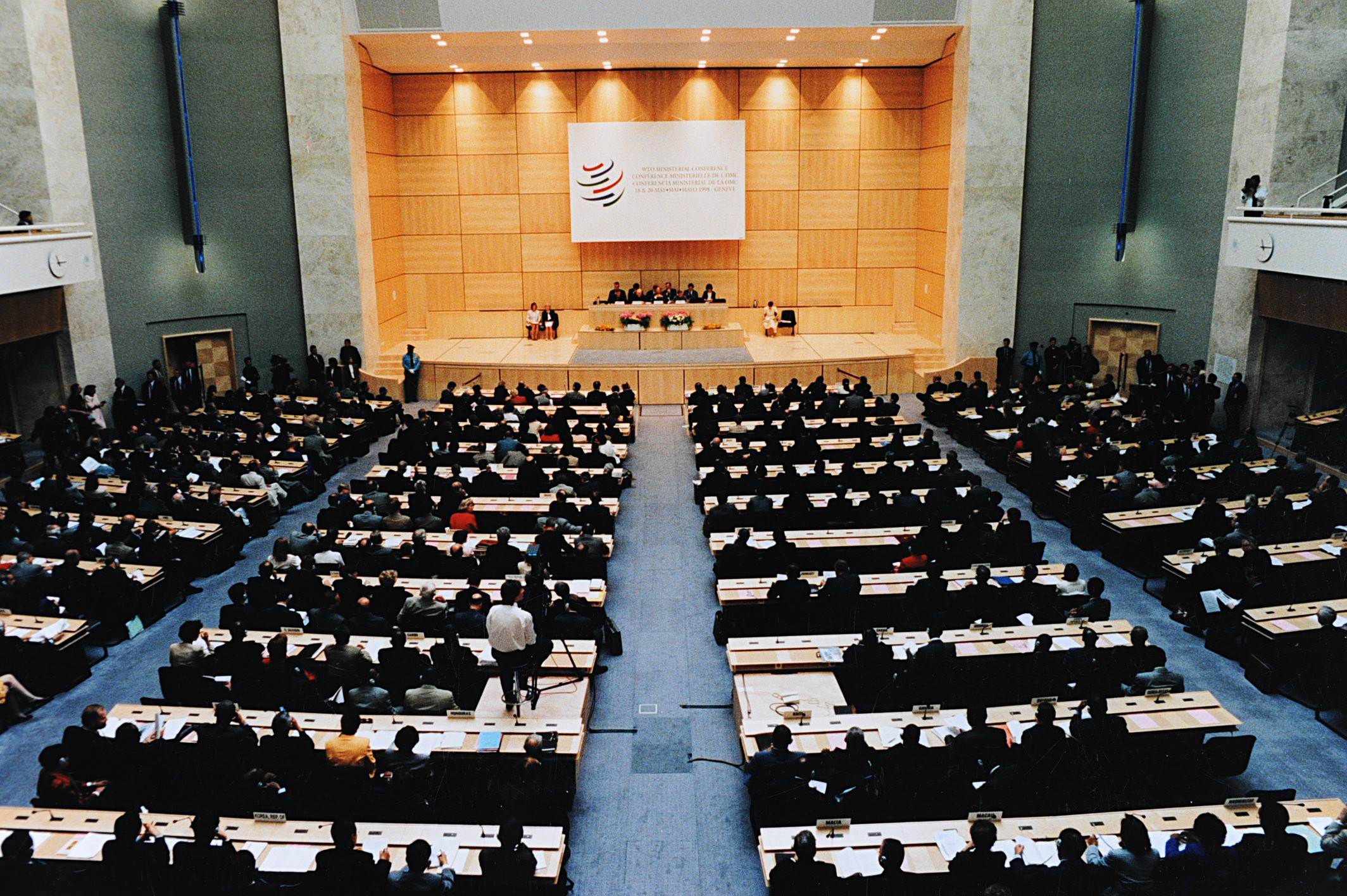 Geneva Ministerial Conference 18 20 May 1998 9305956531