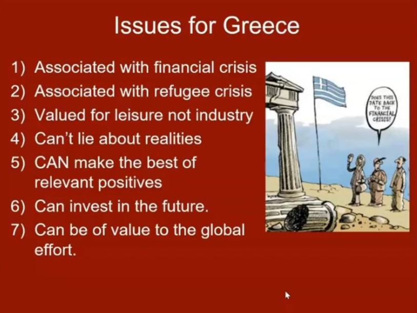 ISSUES WITH GREECE